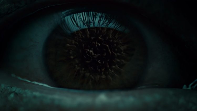 Ojo de Dios reflejado