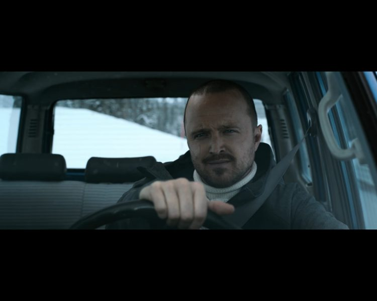 Pinkman at the end of El Camino: A Breaking Bad Movie