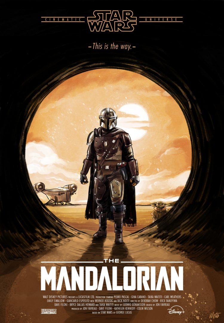 Mandalorian by Hueto