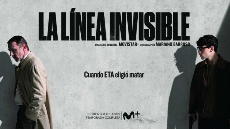 La línea invisible poster