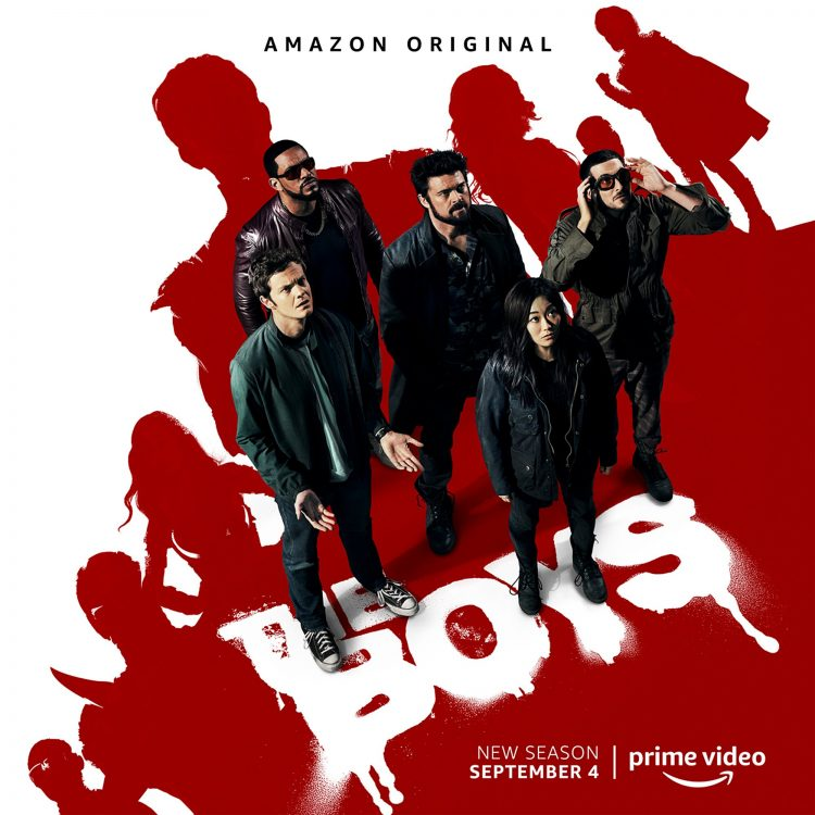 The Boys Season 2 key art CR: Amazon Prime Video