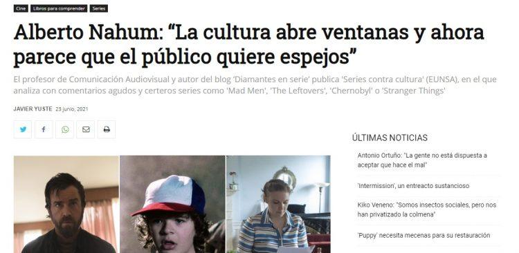 El Cultural entrevista